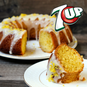7 UP cake made fresh in Carson and delivered locally